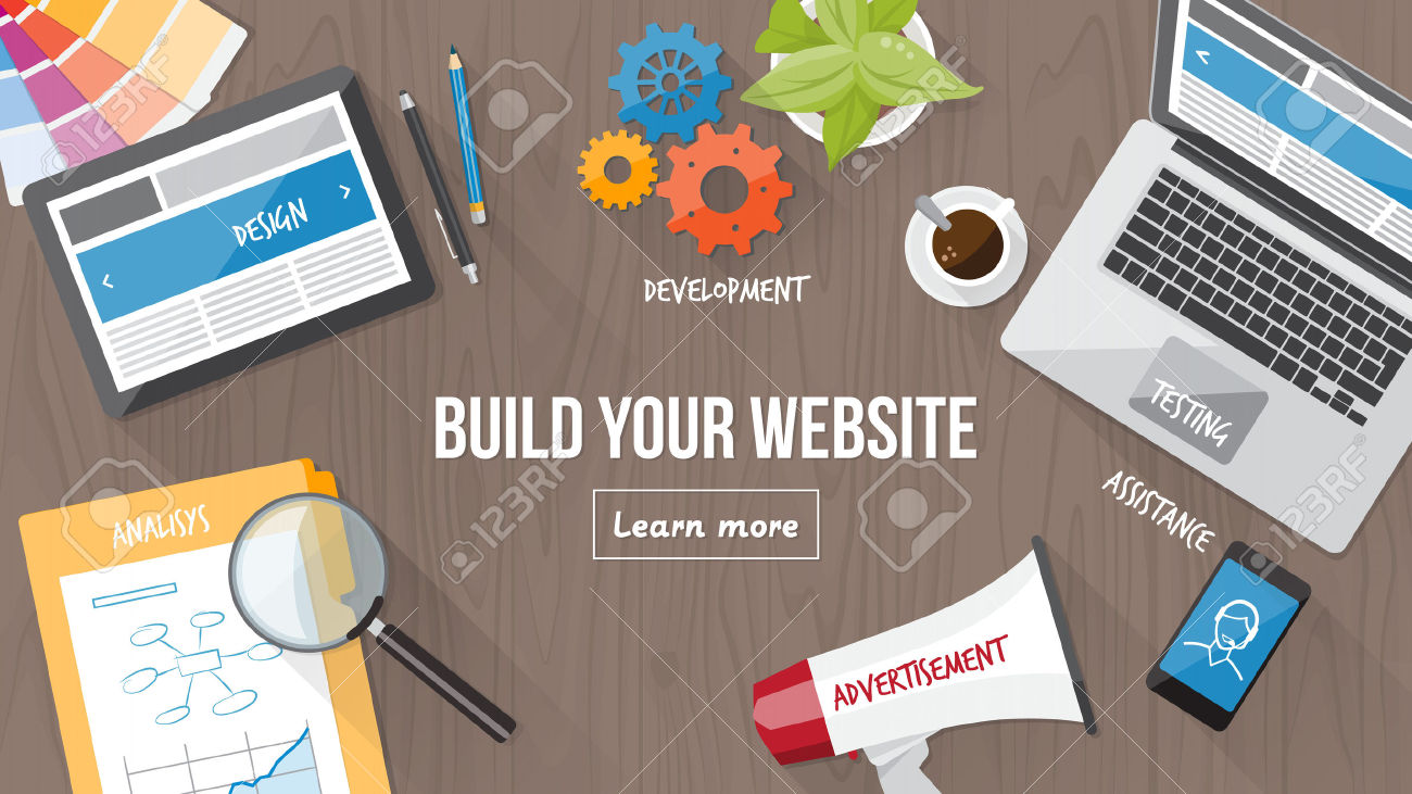 build your website digital marketing