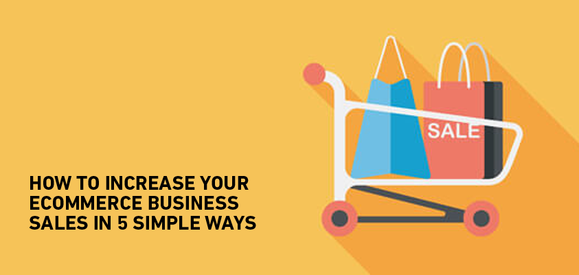 tips to increase ecommerce sales